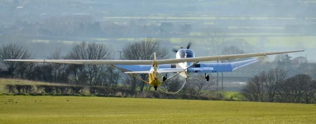 Prefect glider aerotow